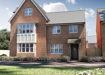 "Thumbnail 2 bed semi-detached house for sale in ""The Loddon"" at Deardon Way, Shinfield, Reading"