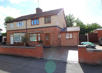 Thumbnail 3 bed semi-detached house for sale in Churchfields Road, Wednesbury