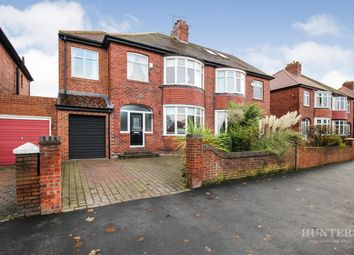 Thumbnail 4 bed semi-detached house for sale in Thompson Road, Fulwell, Sunderland