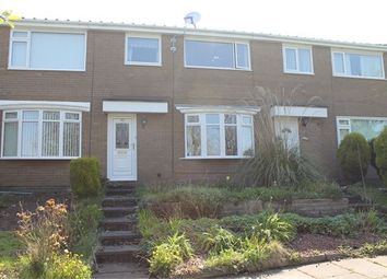 Thumbnail 3 bedroom terraced house for sale in Leasyde Walk, Whickham, Newcastle Upon Tyne.