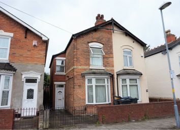 Thumbnail 3 bed semi-detached house for sale in Holte Road, Birmingham