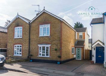 Thumbnail 4 bed semi-detached house for sale in Grove Road, Chertsey