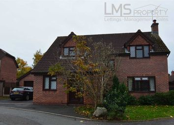 Thumbnail 4 bed detached house for sale in Chesterfield Close, Winsford