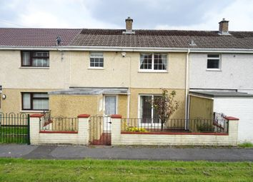 Thumbnail 3 bed terraced house for sale in Brynglas, Pontlottyn, Bargoed