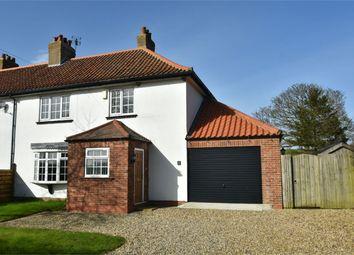 Thumbnail 3 bed semi-detached house for sale in Ruffin Lane, Eddlethorpe, Malton