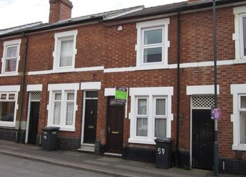 Thumbnail 3 bedroom shared accommodation to rent in Brough St, Derby