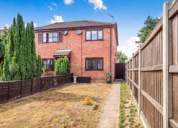 Thumbnail 2 bed end terrace house for sale in School Court, The Street, Felthorpe, Norwich