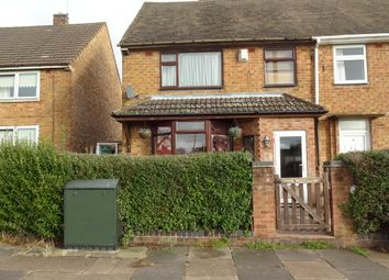 Thumbnail 3 bed semi-detached house for sale in Bringhurst Road, Near Glenfield Road, Leicester