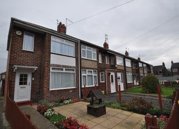 Thumbnail 2 bedroom end terrace house for sale in Dovedale Grove, Hull, North Humberside