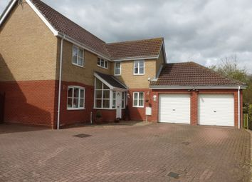 Thumbnail 4 bed detached house for sale in Howley Gardens, Lowestoft