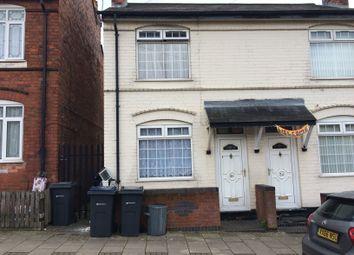 Thumbnail 3 bedroom terraced house for sale in Salisbury Road, Alum Rock
