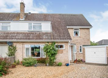Thumbnail 4 bed semi-detached house for sale in Sir Williams Close, Aylsham, Norwich