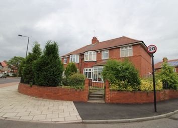 Thumbnail 4 bed semi-detached house for sale in Kenton Lane, Newcastle Upon Tyne