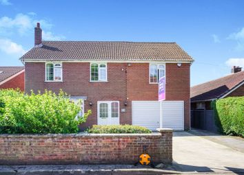 Thumbnail 5 bed detached house for sale in Wigsley Road, Harby, Newark