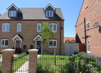 Thumbnail 4 bed semi-detached house for sale in The Hayfields, Spalding