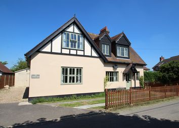 Thumbnail 4 bedroom detached house for sale in Mill Road, Buxhall, Stowmarket