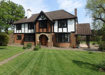 Thumbnail 4 bed detached house for sale in Wilmerhatch Lane, Epsom