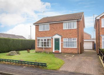 Thumbnail 4 bedroom detached house for sale in Stirrup Close, York