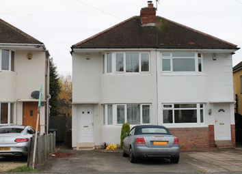 Thumbnail 2 bed semi-detached house to rent in Castle Lane, Olton, Solihull