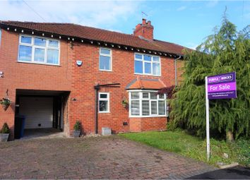 Thumbnail 4 bed semi-detached house for sale in Vicarage Avenue, Cheadle Hulme