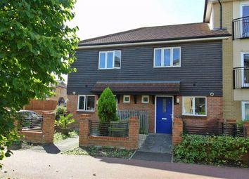 Thumbnail 2 bed end terrace house for sale in Oakworth Avenue, Broughton, Milton Keynes