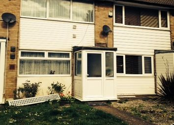 Thumbnail 1 bed terraced house to rent in Hollycorft Close, Sipson