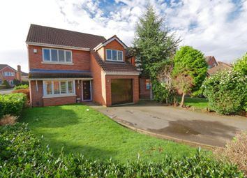 Thumbnail 4 bed detached house for sale in Pasturegreen Way, Irlam, Manchester