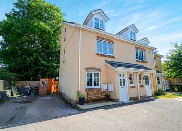 Thumbnail 3 bed end terrace house for sale in Knights Mead, Chudleigh Knighton, Newton Abbot