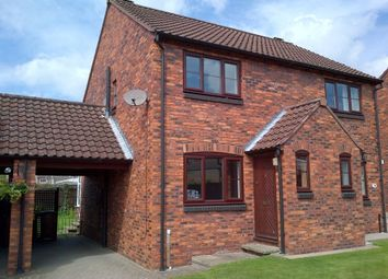 Thumbnail 2 bed semi-detached house to rent in Town End Close, Pickering