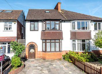 Thumbnail 4 bedroom semi-detached house for sale in Howard Road, New Malden