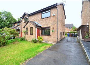 Thumbnail 2 bed semi-detached house to rent in Wolfreton Crescent, Clifton, Swinton, Manchester