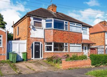 Thumbnail 3 bed semi-detached house for sale in Cleveleys Avenue, Leicester