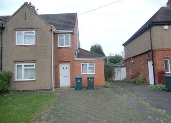 Thumbnail 4 bedroom semi-detached house to rent in Charter Avenue, Canley, Coventry