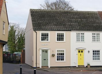 Thumbnail 3 bedroom end terrace house for sale in Bury St. Edmunds