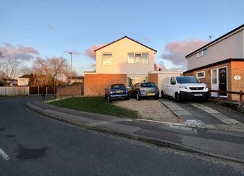 Thumbnail 4 bed detached house for sale in Barnstaple Close, Wigston