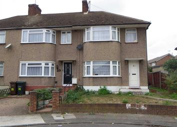 Thumbnail 3 bed end terrace house for sale in Denton Court Road, Gravesend