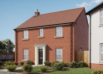 Thumbnail 4 bedroom detached house for sale in Woodpecker Avenue, Holt