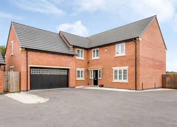 Thumbnail 5 bed detached house for sale in Eatough Close, Syston, Leicestershire