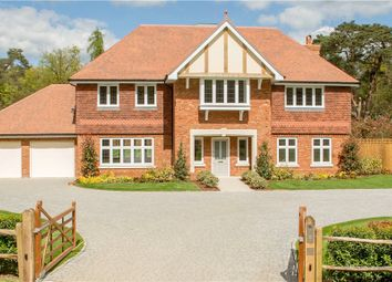Thumbnail 5 bed detached house for sale in St. Neots Road, Eversley, Hook