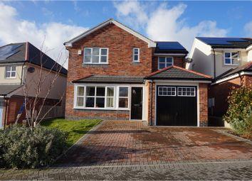 Thumbnail 4 bed detached house for sale in Lon Gwaenfynydd, Llandudno Junction