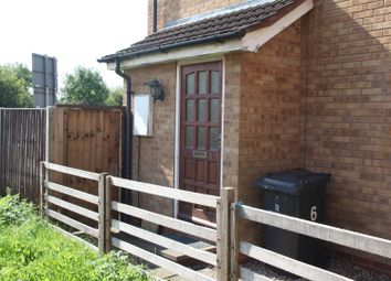 Thumbnail 1 bedroom end terrace house for sale in Manston Close, Leicester