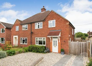 Thumbnail 3 bedroom semi-detached house for sale in Southdown Road, Benham Hill, Thatcham