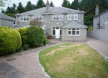 Thumbnail 4 bed semi-detached house to rent in Queens Road, Aberdeen