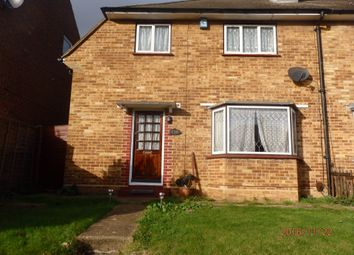 Thumbnail 3 bed semi-detached house to rent in Hall Place Crescent, Bexley