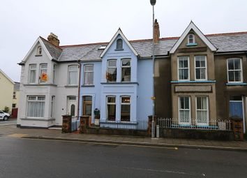 Thumbnail 4 bed terraced house for sale in 22, Vergam Terrace, Fishguard, Sir Benfro