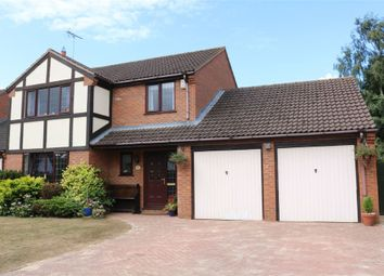 Thumbnail 4 bed detached house for sale in Ogrey Close, Thurlby, Bourne, Lincolnshire