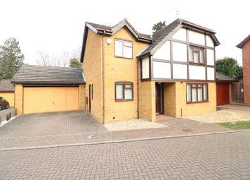 Thumbnail 4 bed detached house for sale in Wymington Park, Rushden
