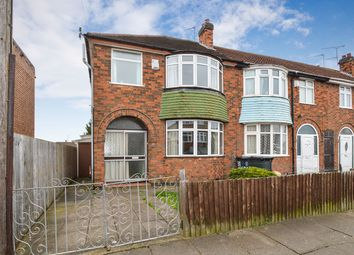 Thumbnail 3 bed terraced house for sale in Dersingham Road, Leicester