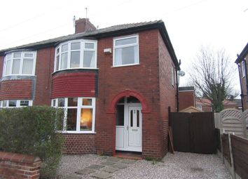 Thumbnail 3 bed semi-detached house for sale in Maple Avenue, Denton, Manchester
