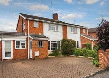Thumbnail 3 bed semi-detached house for sale in Exeter Road, Aldershot